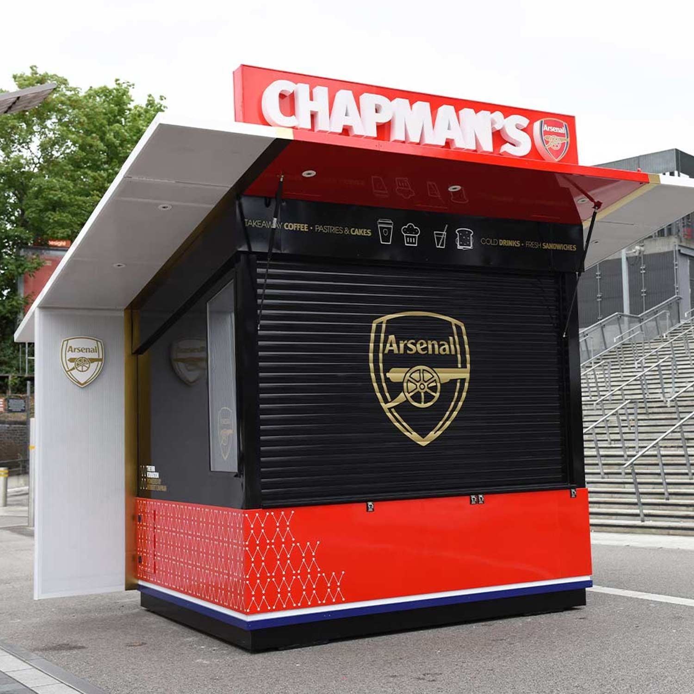 Chapmans Kiosk Arsenal lFC - Herbert Chapman