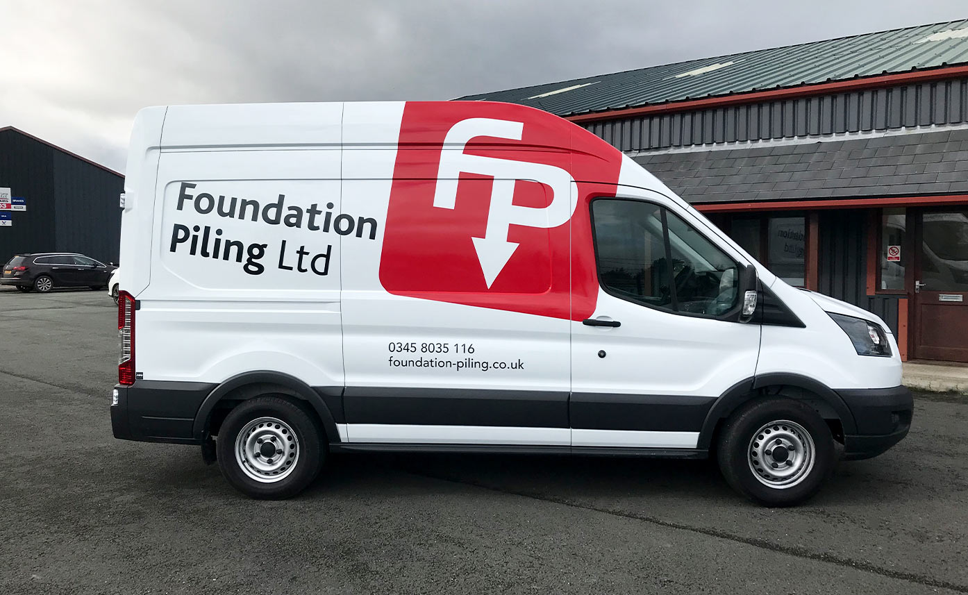 Ford Transit Livery - Foundation Piling