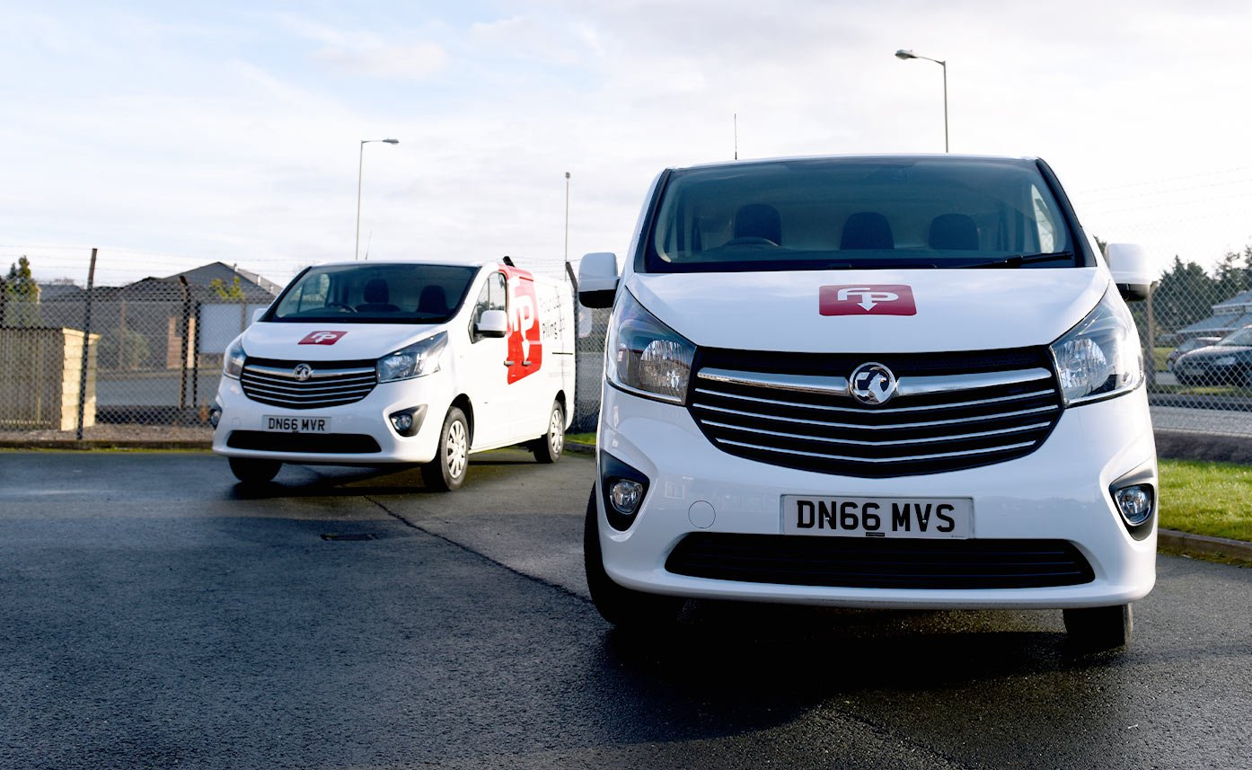 Vauxhall Vivaro Vehicle graphics - Foundation Piling
