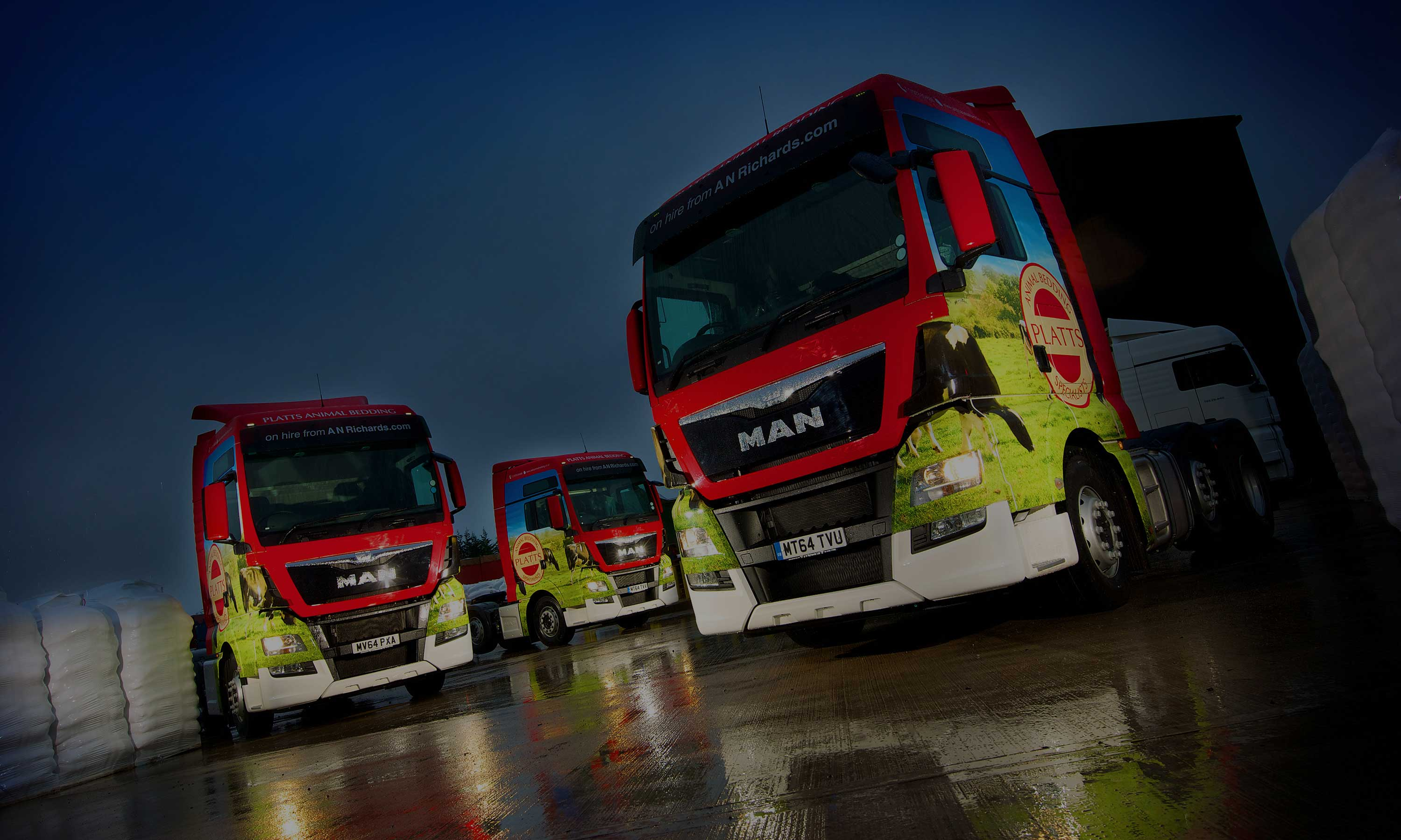 Platts HGV Fleet Graphics