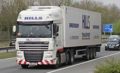 Vehicle Cab Graphics - Trailer Graphics - Hills Transport