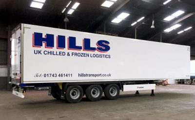 Hills Transport Trailer Graphics - Trailer Decals