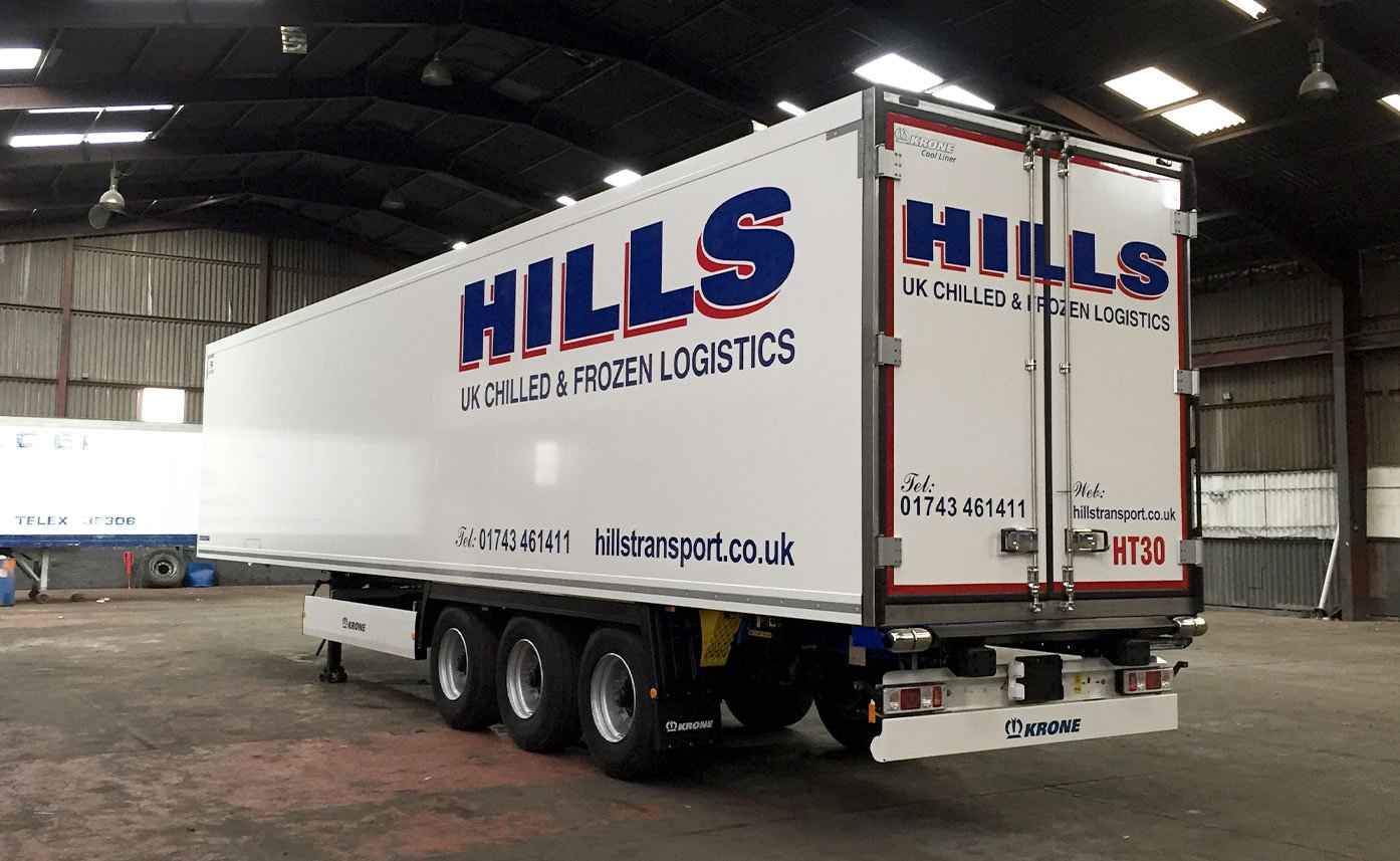 Cab Graphics - Trailer Graphics - Hills Transport