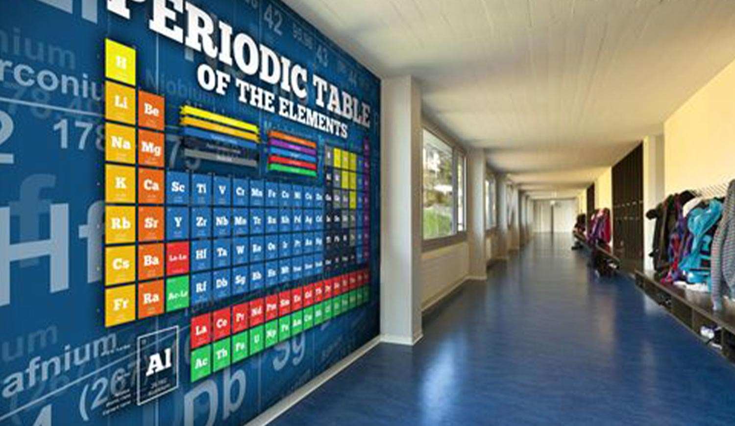 Educational Wall Graphics for Schools and College