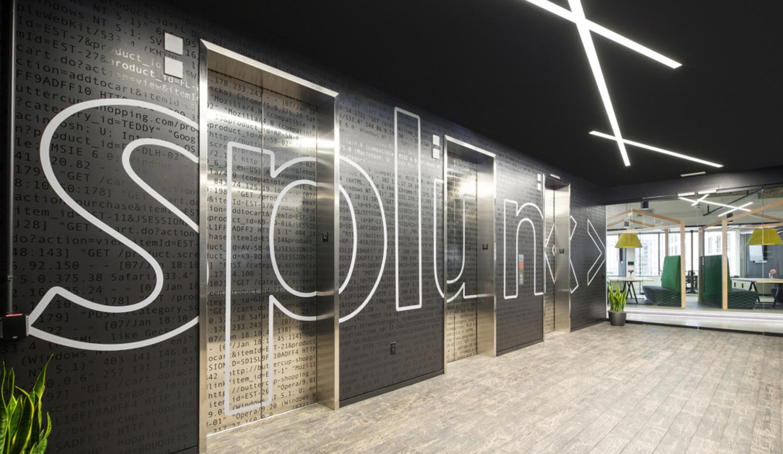 Lift Graphics inside Office - Branded Elevators