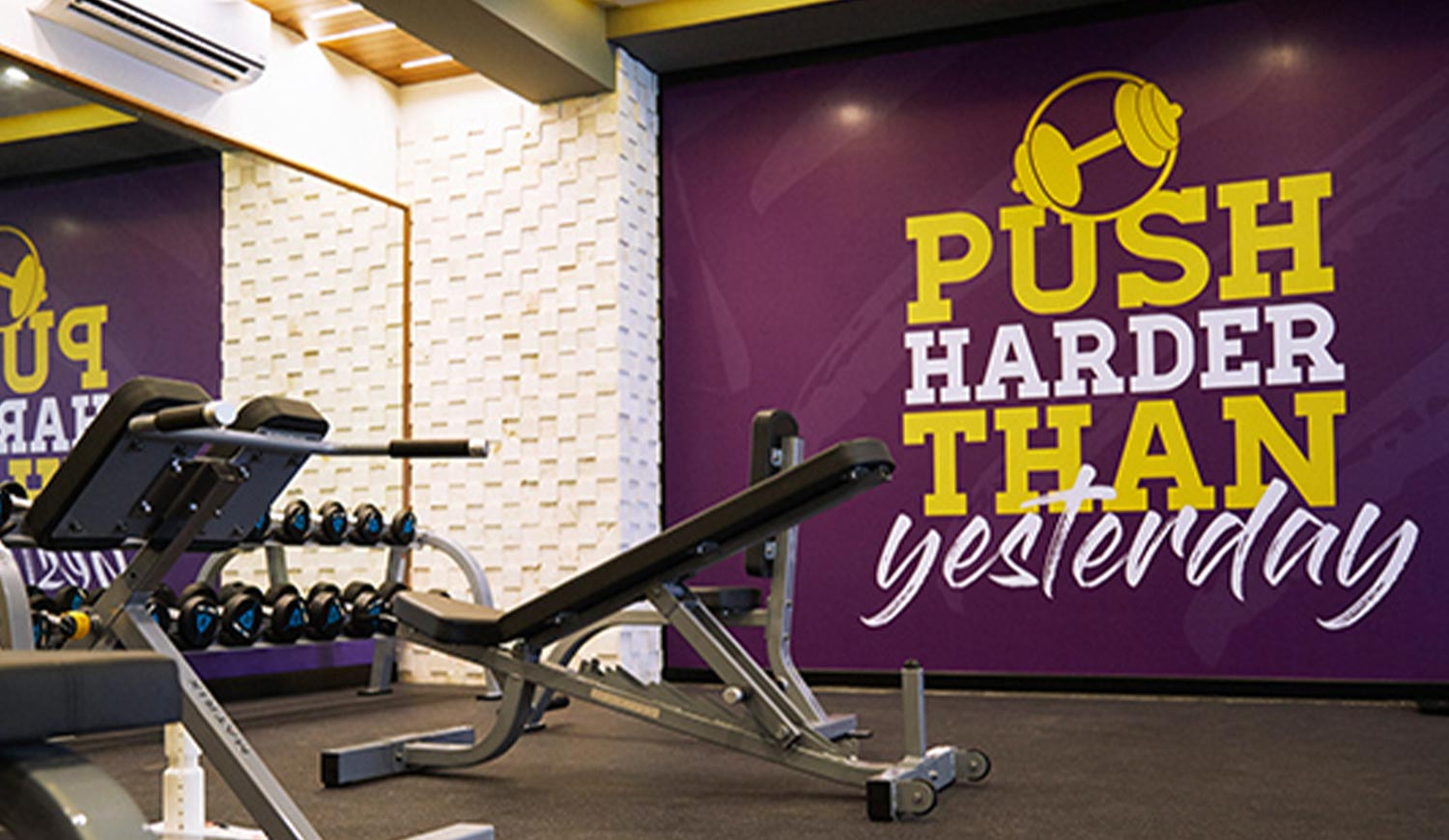 Motivational Wall Graphics for Gym