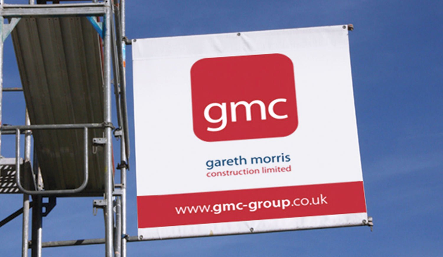 Printed Scaffolding Banners - Large banners for scaffold