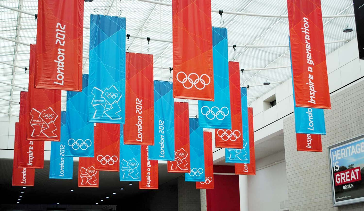 Printed Hanging Banners - Indoor Hanging Signs