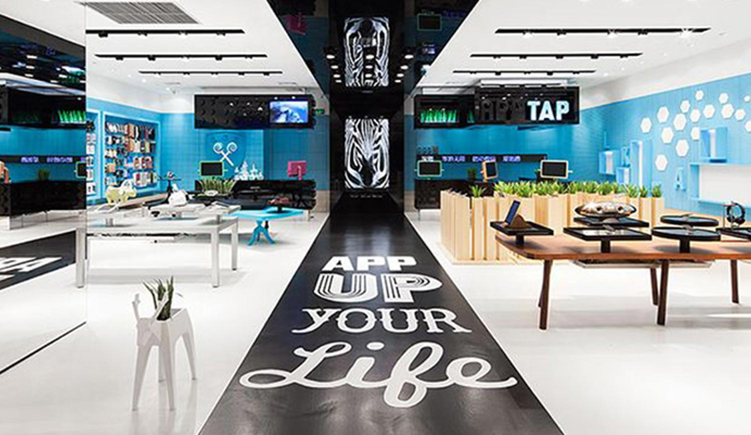 Printed Floor Graphics in Office Space