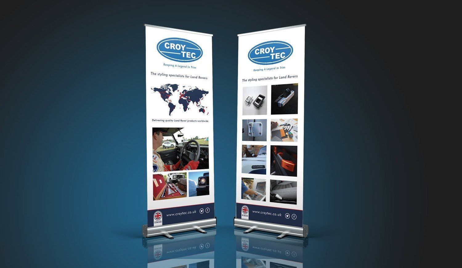 Roll up Banner Displays - Exhibition display ideas by Now Group