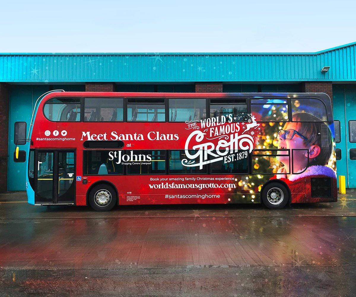 Arriva Double Decker Bus Wrap