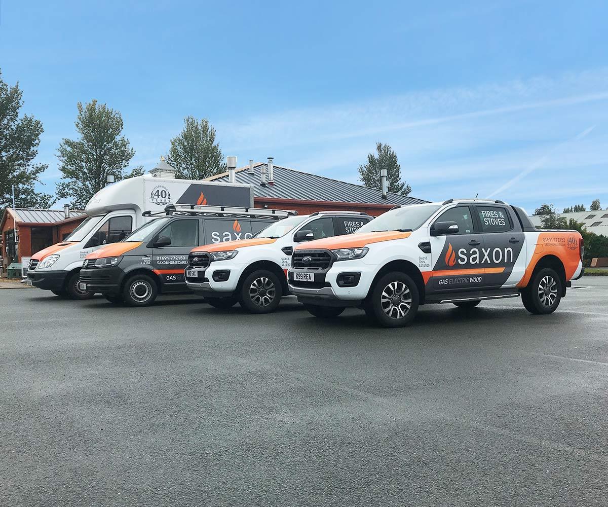 Fleet Vehicle Graphics Branded Fleet Vehicles