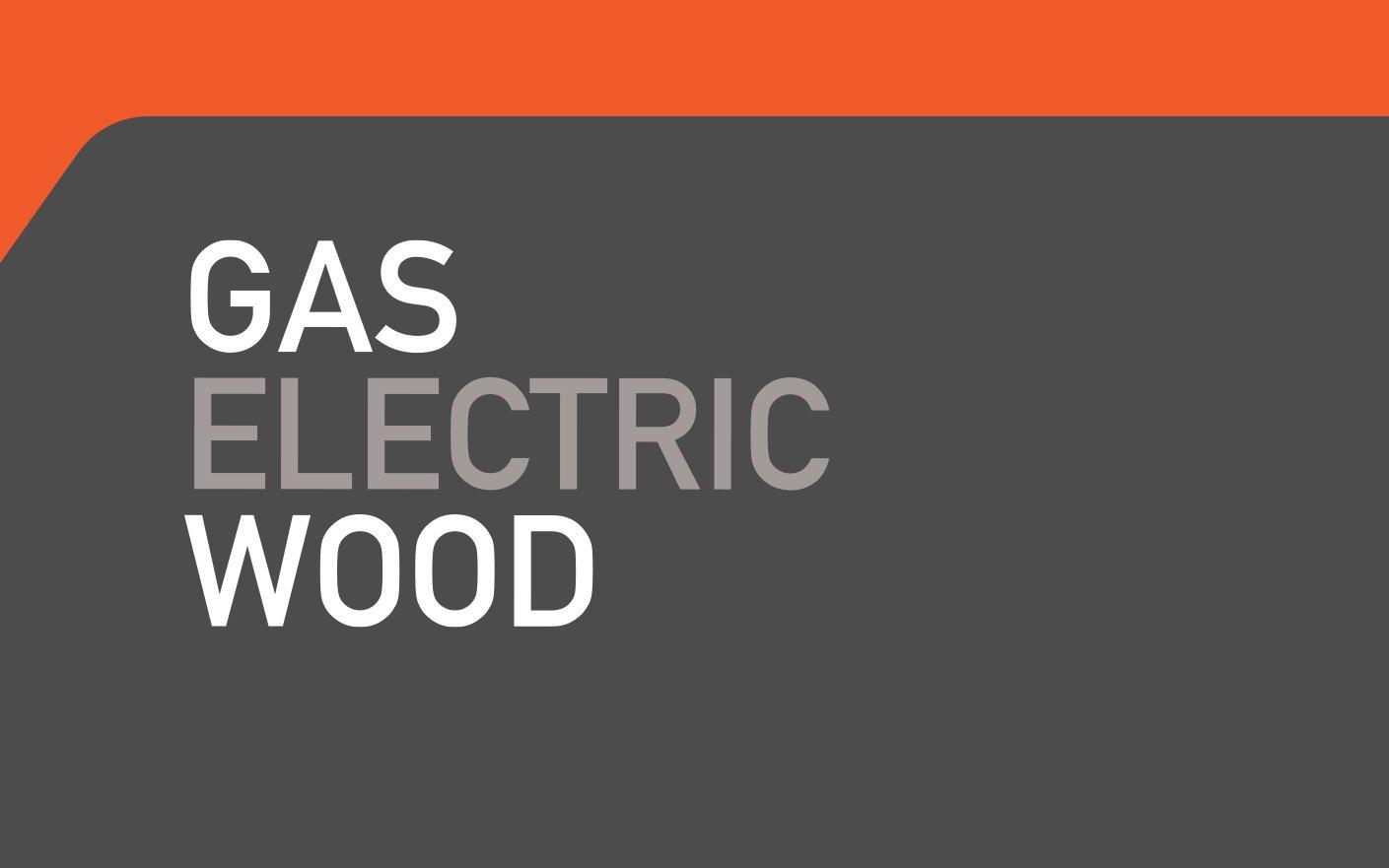 Gas Electric Stove Branding