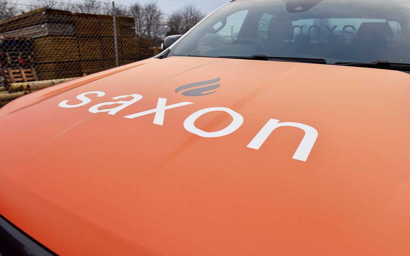 Saxon Heating Vehicle Livery