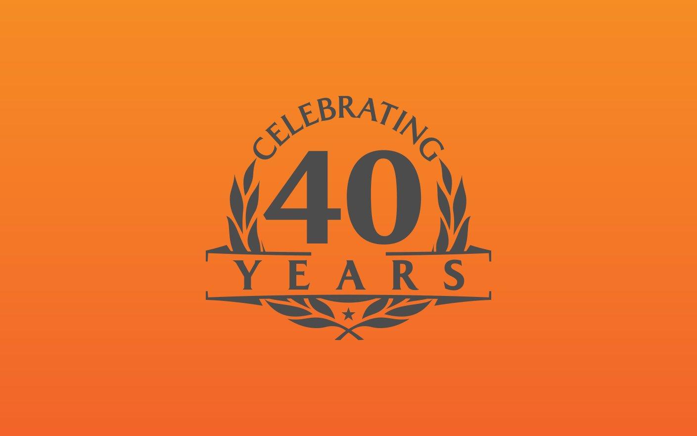 Saxon Homecare Orange Branding Anniversary