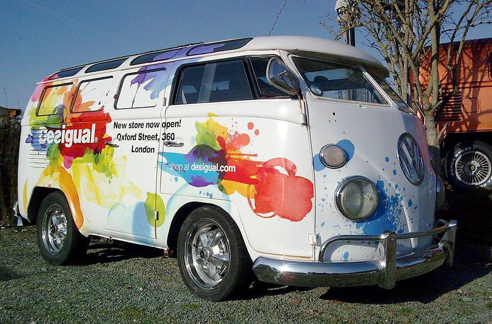 Desigual Marketing Tour Camper Van