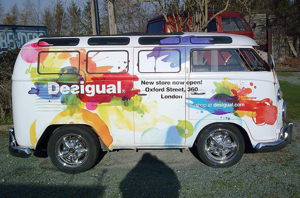 Desigual Promo Vehicle Marketing Tour