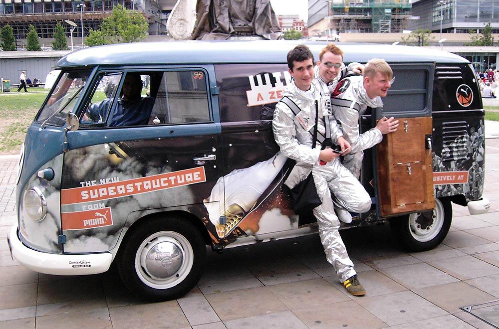 Footlocker Promo Vehicle Camper Van