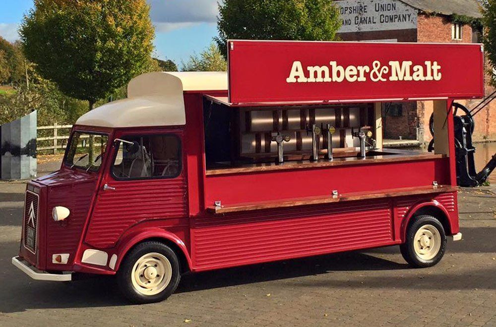 Amber & Malt HY Van Conversion