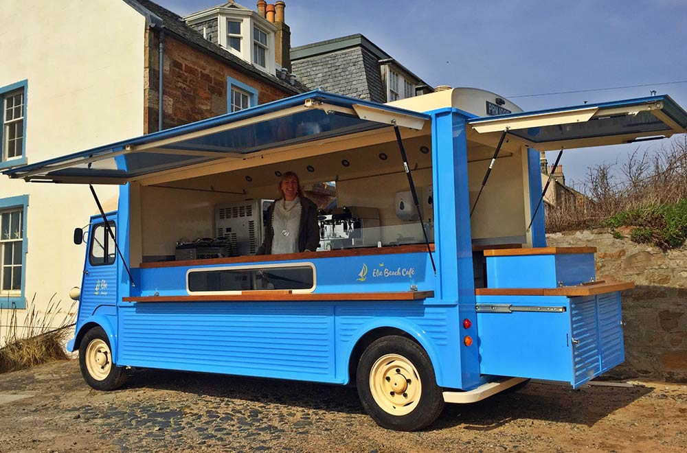 Elie Beach Cafe HY Van Conversion