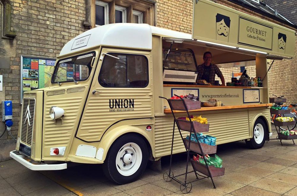 Gourmet Coffee Bar Kitchen HY Van Conversion