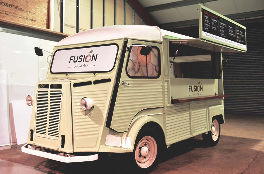 Fusion Juice Bar HY Van Conversion