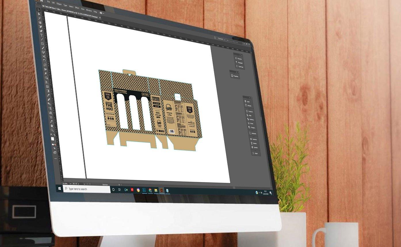 Mock Up Packaging Mr Tubs Concept Design