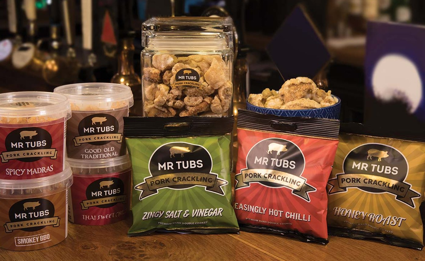 Packaging Design Services Mr Tubs