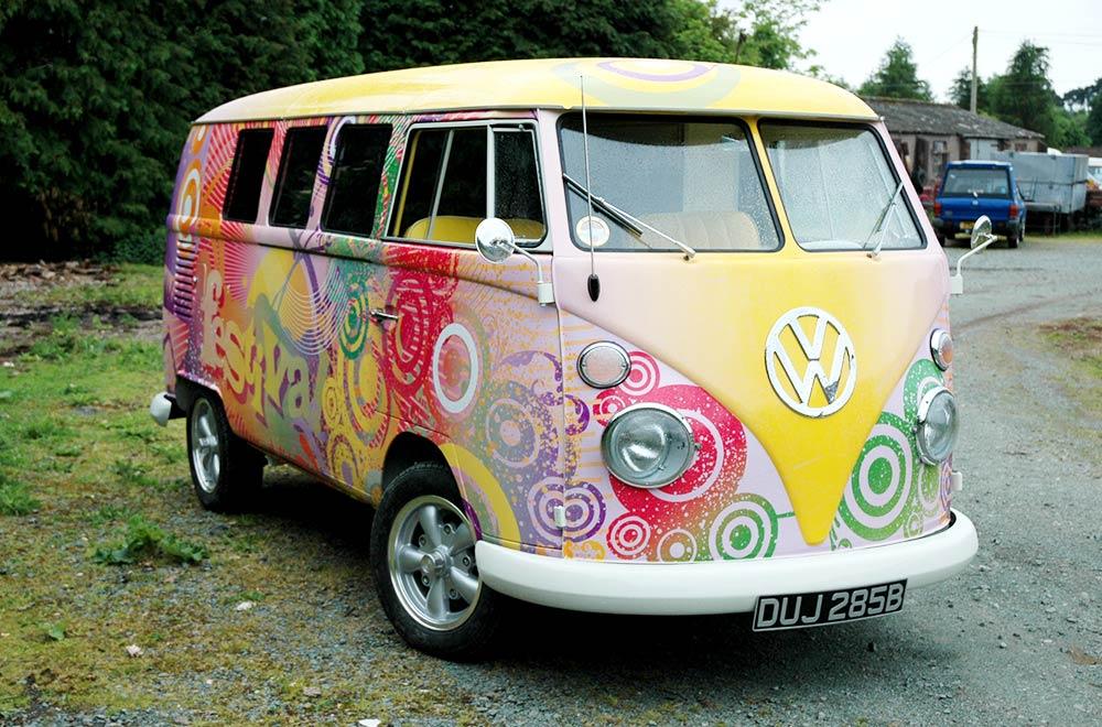 Festival Marketing Tour Camper Van Promo Vehicle