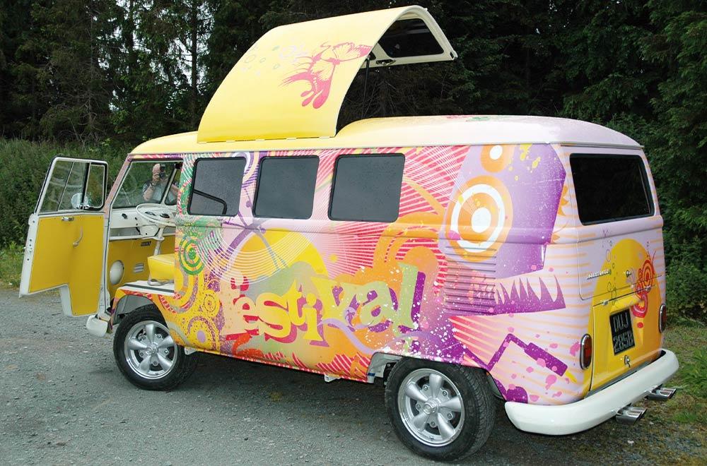 Promo Vehicle Festival Marketing Tour