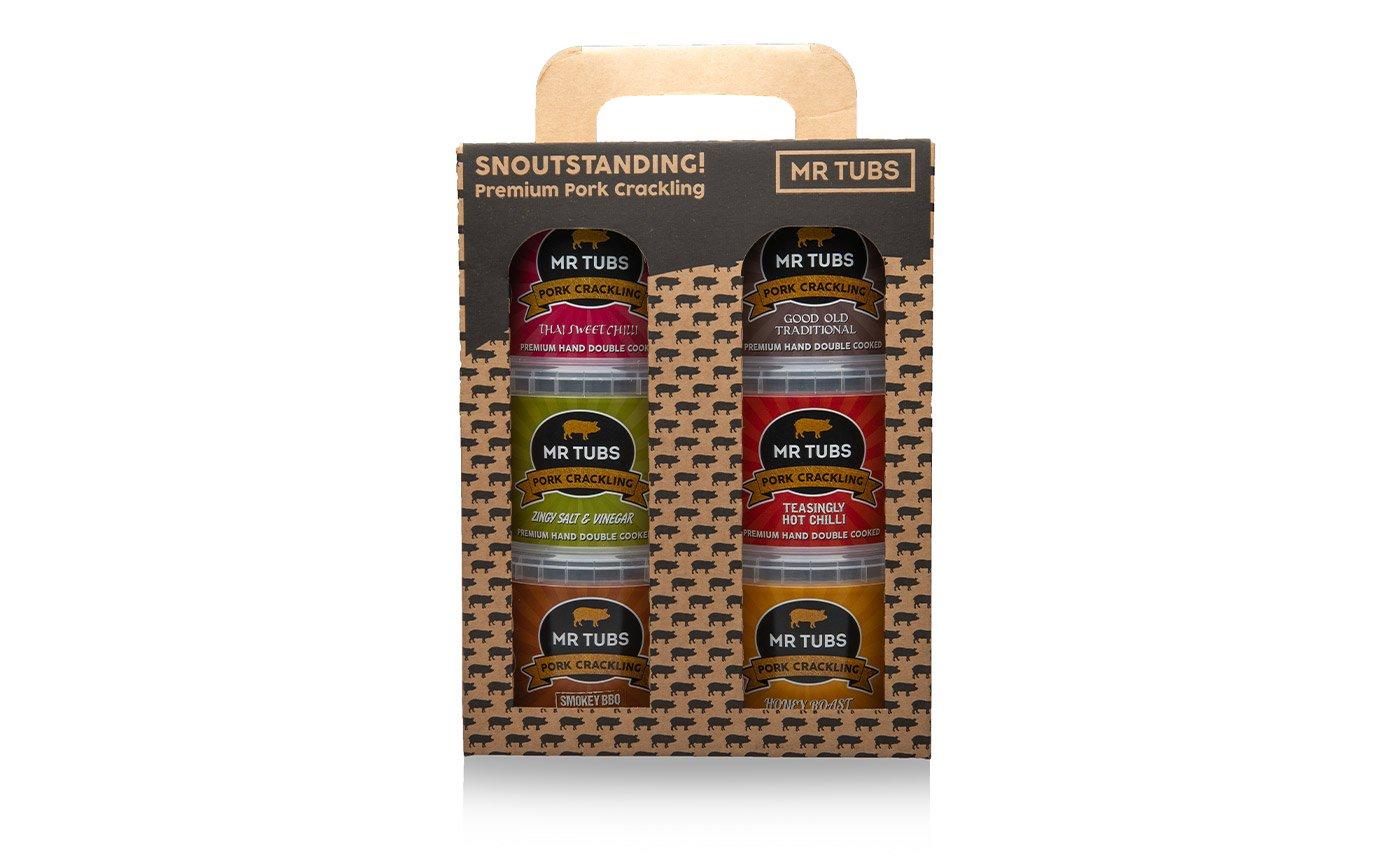 Tub Gift Set Design Packaging
