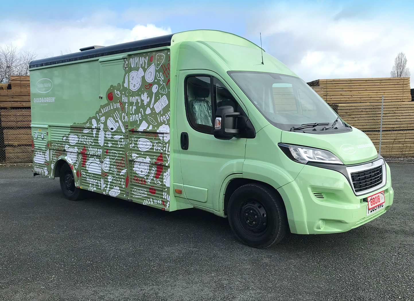 Bespoke Catering Custom Vehicle