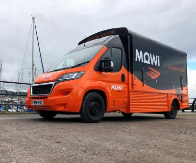 Modern HY Van Conversion for MOWI Scotland - Catering Truck